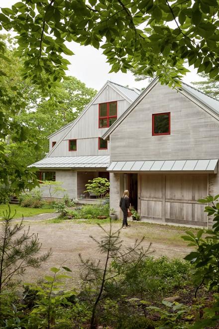 artful aerie maine home design