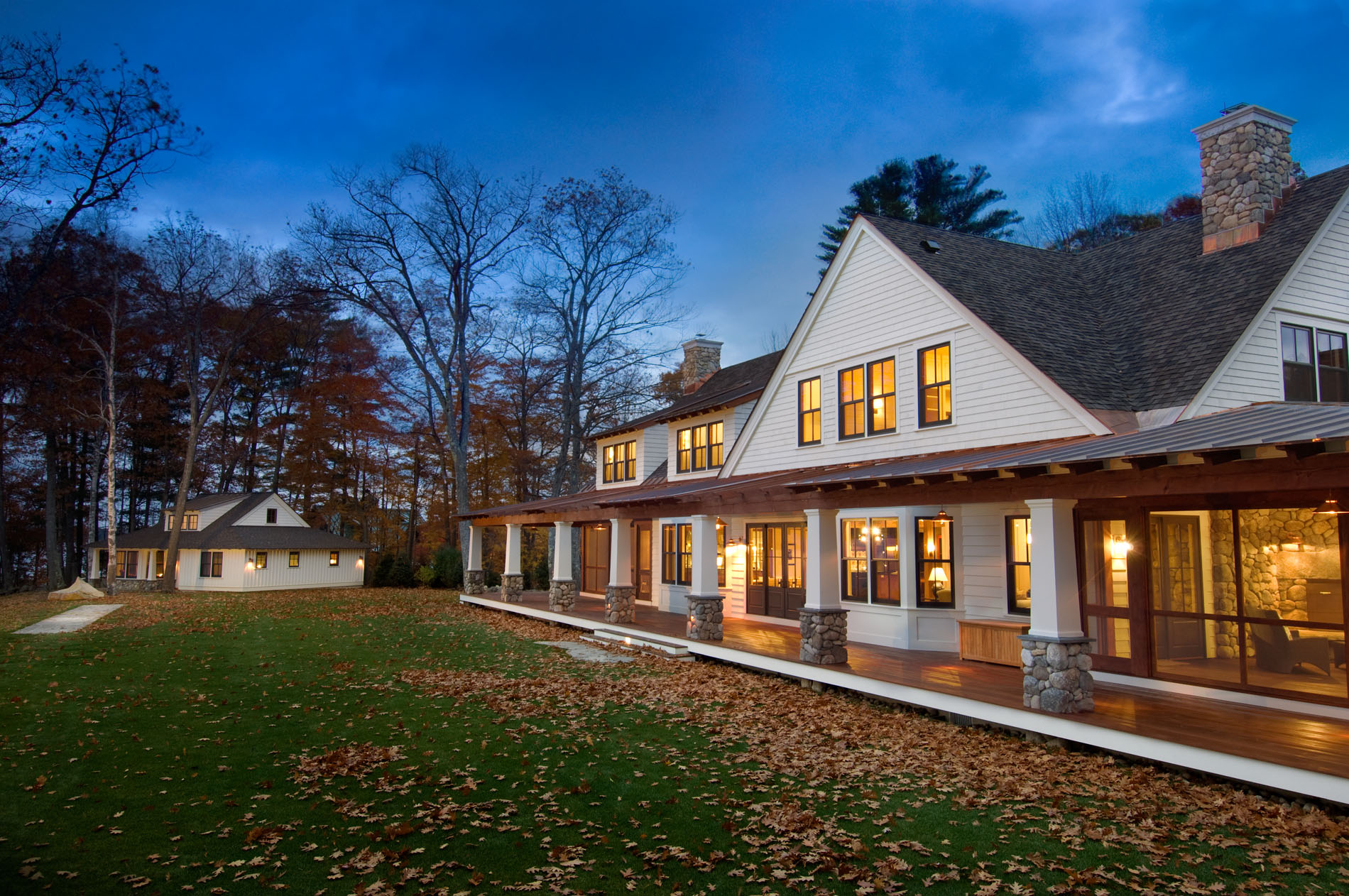 Stay together play together maine home design for Maine cottage plans