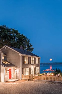 Red, White and Views | Falmouth | Maine Home+Design