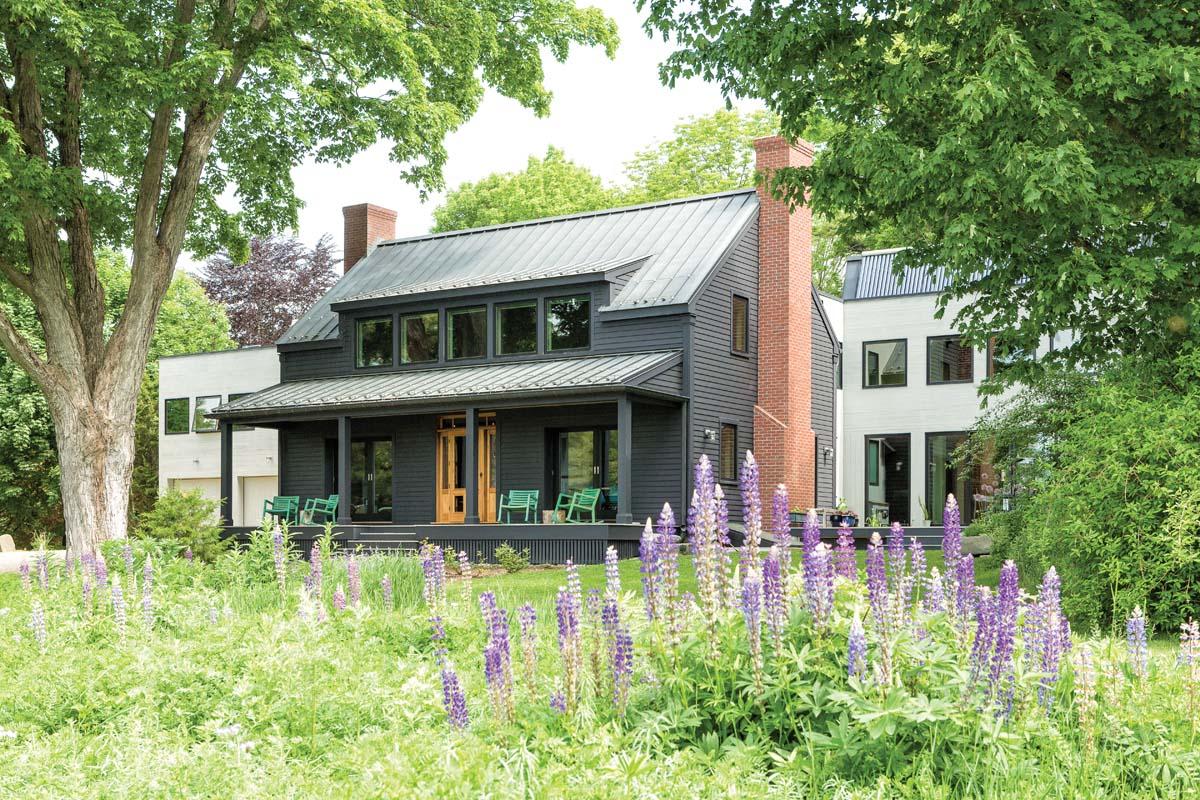 Neighborhood art project maine homes maine home design for Maine home design