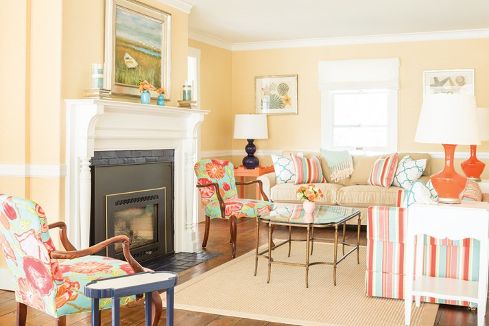 Color On The Coast Maine Home Design