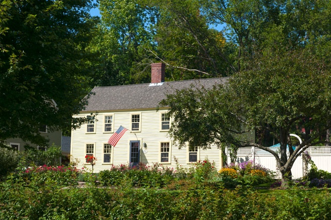 A classical, historial home in York, ME