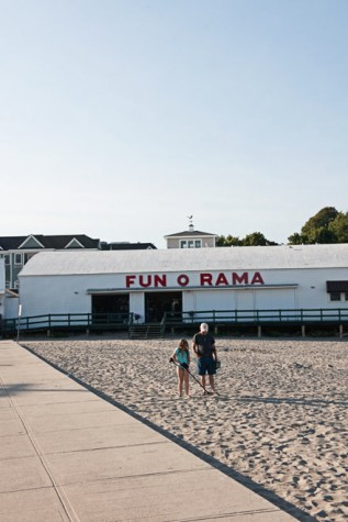 The Fun-O-Rama on Short Sands in York is a great vintage arcade beside a bowling alley