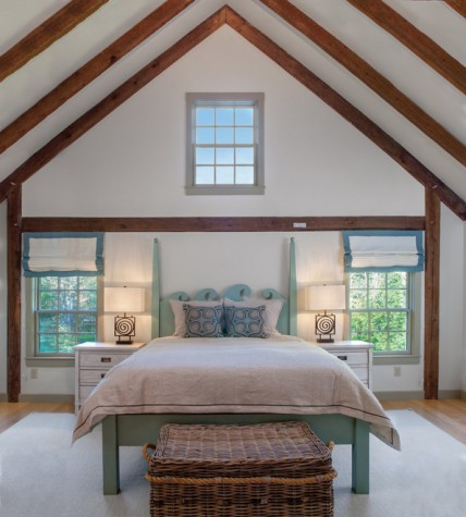rustic redefined maine home design