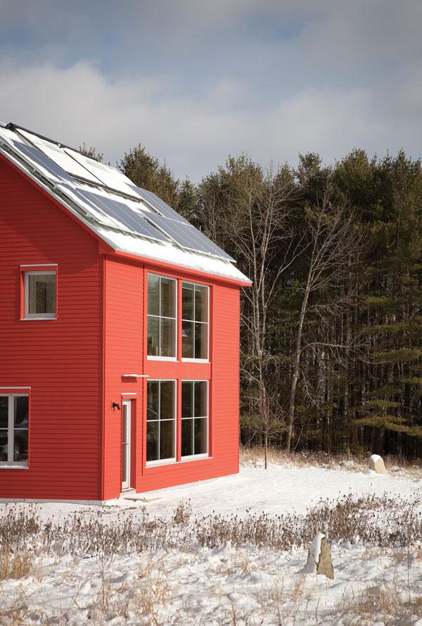 Passive impressive maine home design for Maine home design