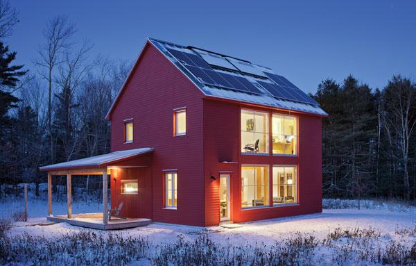 Passive Impressive Maine Home Design