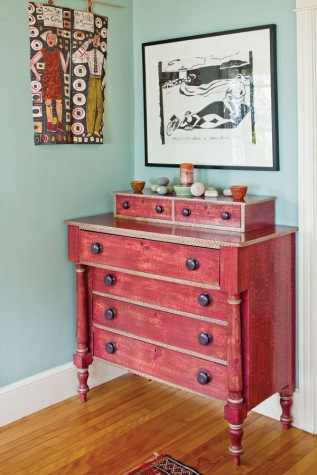 an artful collage maine home design