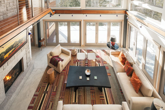 Modern On The Mountain Maine Home Design