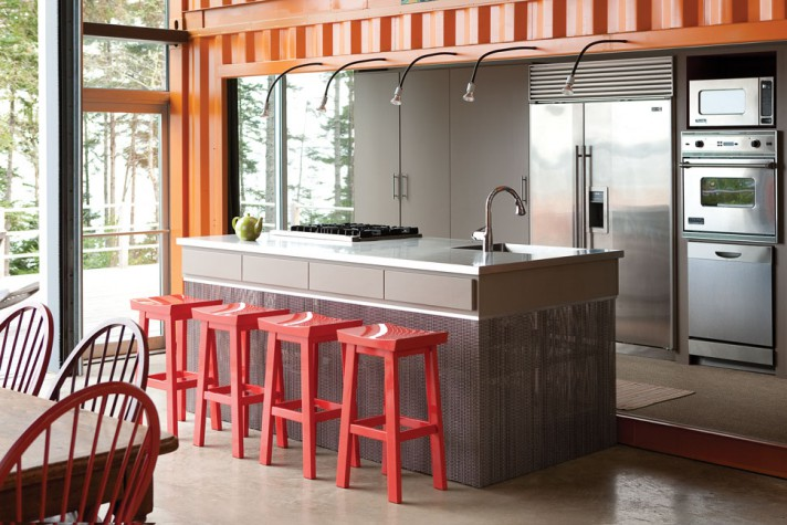 Self Contained Living Maine Home Design