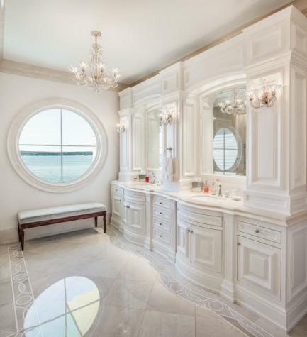 Design is in the details maine home design for Clive christian bathroom designs