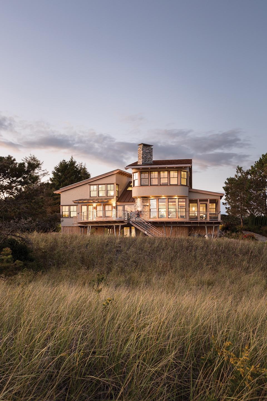 Dune dream maine home design for Maine home design