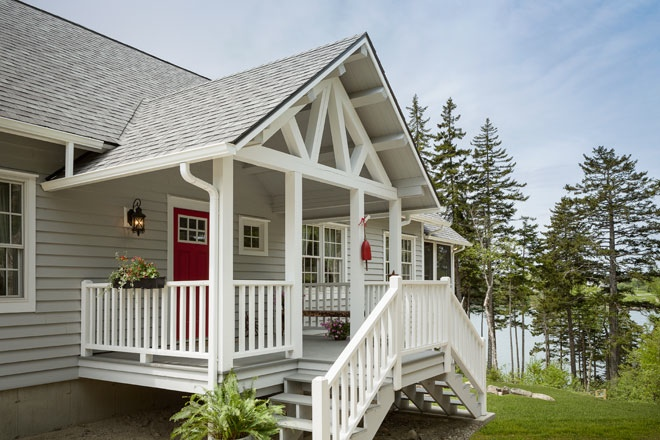 Rustic update maine home design for Maine home design