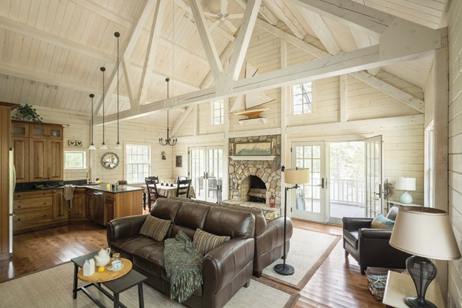 Rustic Update Maine Home Design