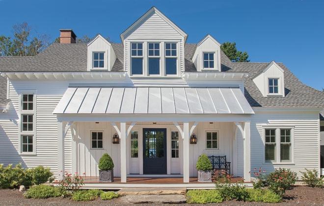 American vernacular american contemporary maine home for Maine home design