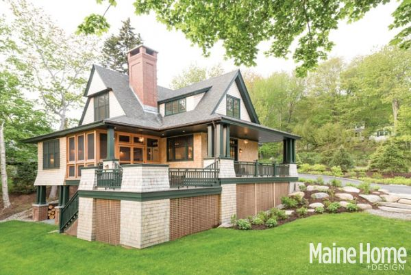 Shingle Style Roots Exterior