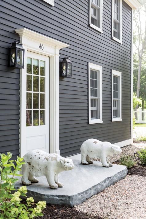 Moody Hues Maine Home Design