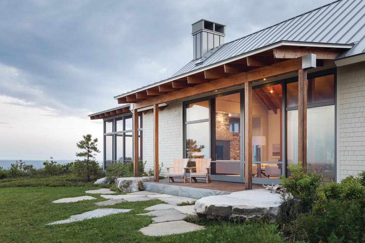 Scarborough love story maine home design for Maine home design