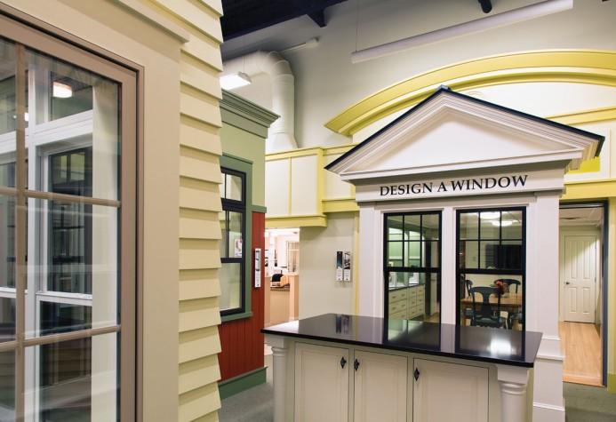 The Marvin Design Gallery Showroom.