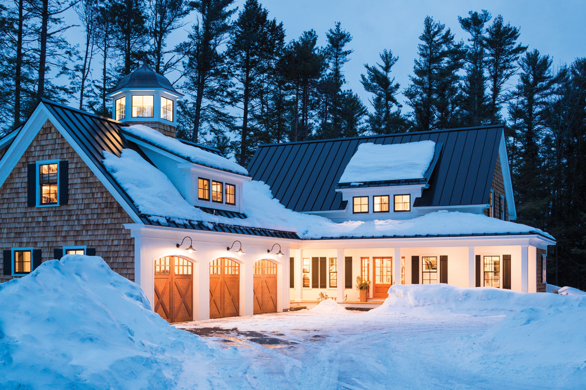 Super Natural Maine Home Design