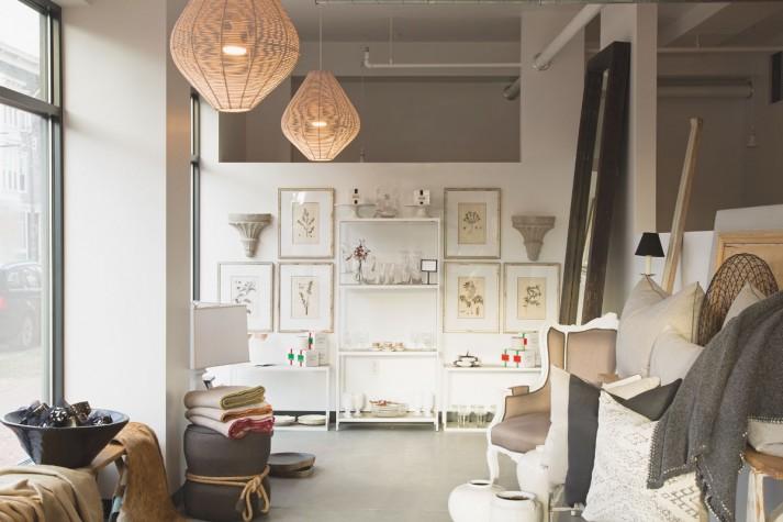A View Of Tracy Davisu0027s New Urban Dwellings Shop.