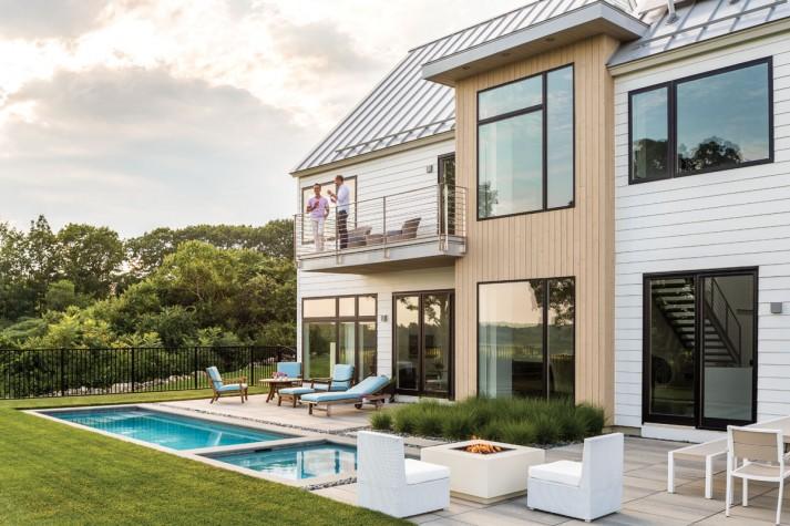 Modern on the Marsh - Maine Home + Design