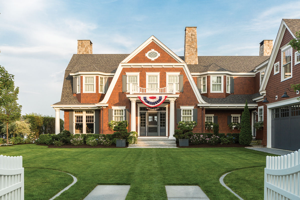 Warm Welcome Maine Home Design