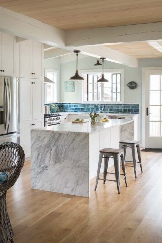 A Home of Her Own - Maine Home + Design Southwestern Home Design Overhang Eve on