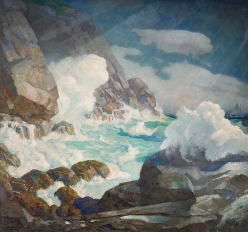 N C Wyeth Revisited Maine Home Design
