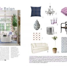 Purple Reign | September Style Room | Maine Home+Design