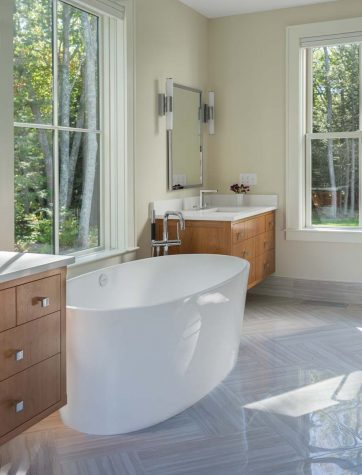 A Clean Slate Kevin Browne Architecture Maine Home Design