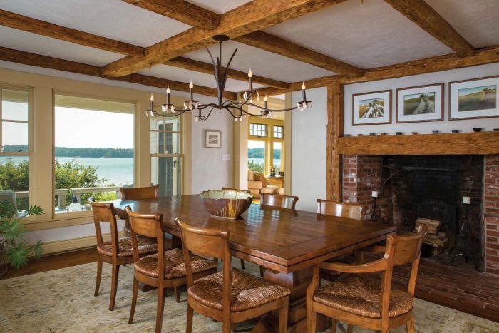 Cousins Island Cape   Maine Homes   Maine Home+Design