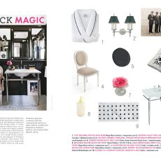 Black Magic | Style Room | Maine Home+Design