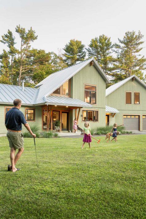 California Modern East Coast Agrarian Maine Home Design
