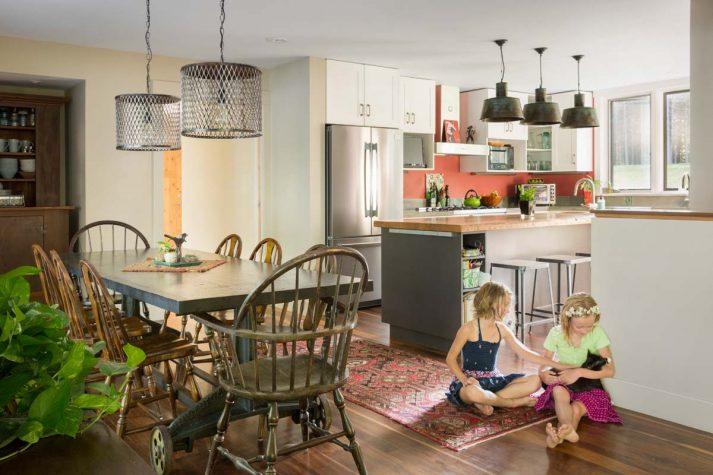 California Modern, East Coast Agrarian | Maine Home+Design
