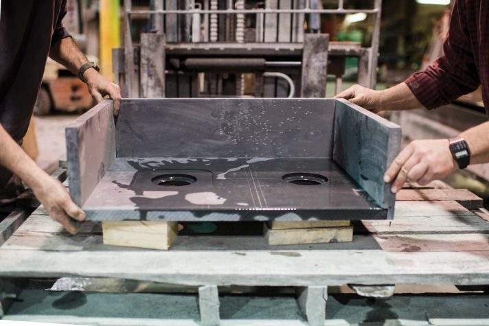 Set in Stone | Sheldon Slate | Maine Home+Design