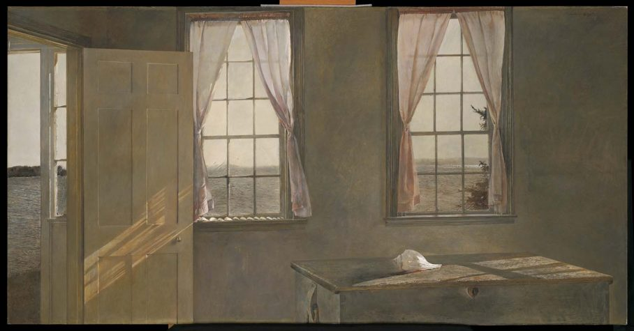 Andrew Wyeth, Her Room, 1963, Tempera On Panel; Collection Of The  Farnsworth Art Museum