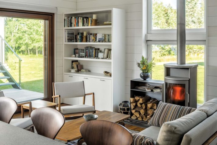 Furniture Includes A Raleigh Sofa, Jens Chair, And Skagen Co Ee Table, All  From Design Within Reach.
