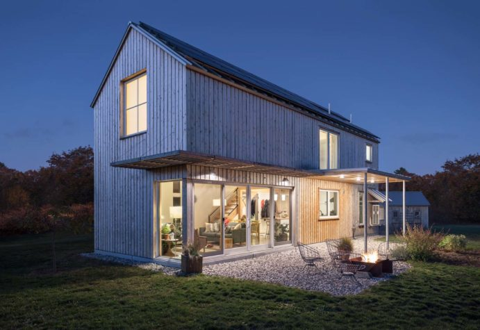 Small Footprint Big Impact Maine Home Design