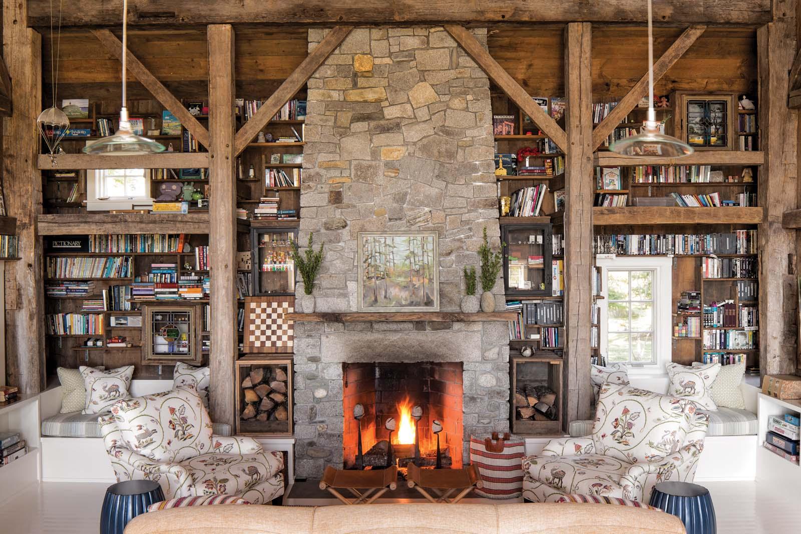 reimagining history maine home design