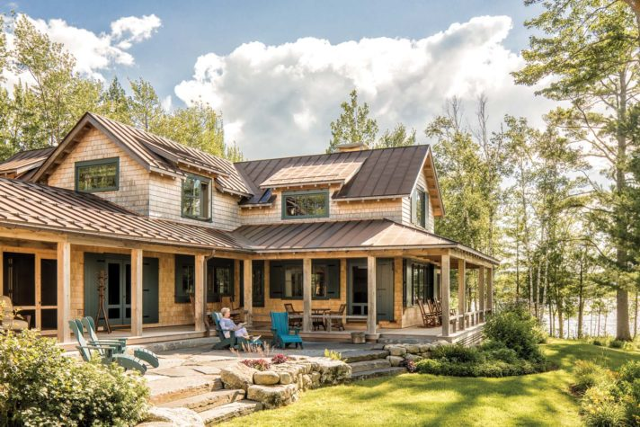 History In The Making Maine Home Design