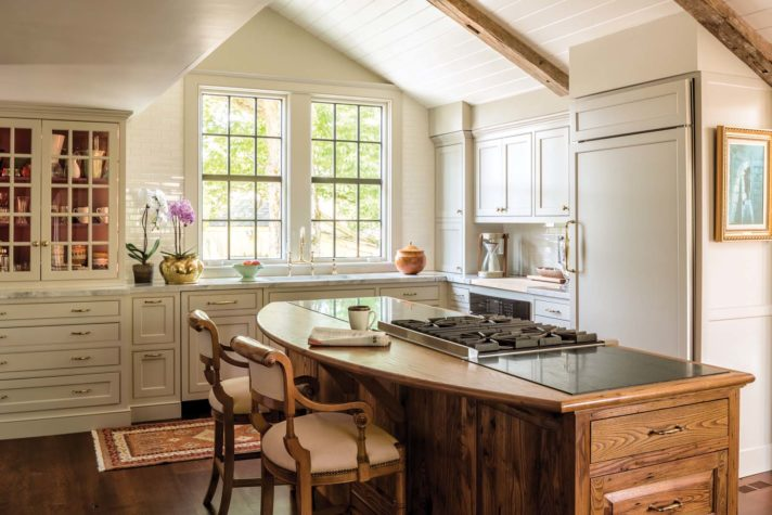 U201cWe Kept The Feel Of A Working Kitchen But Made It Seamless By Adding  Decorative Panels Over The Dishwasher And Refrigerator, Which Tucks Them  Away,u201d Says ...