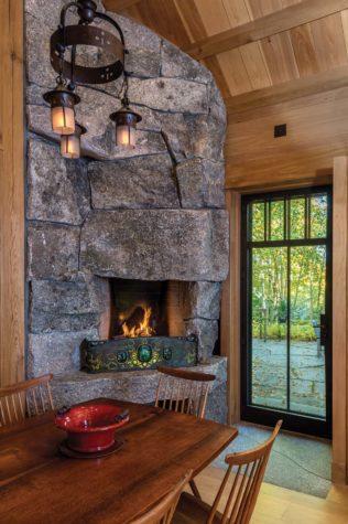 Rustic Refined Maine Home Design