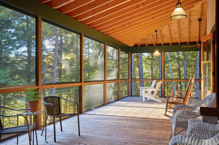 A Labor of Lumber Maine Home  Design Architecture art and good living