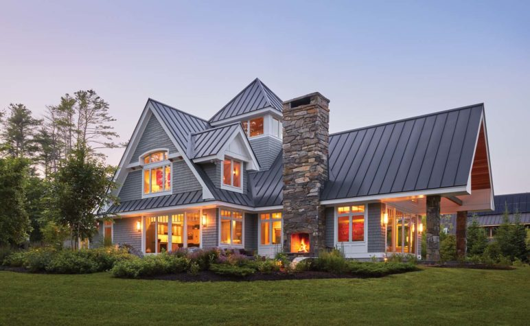 Maine home design architecture art and good living for Maine house plans