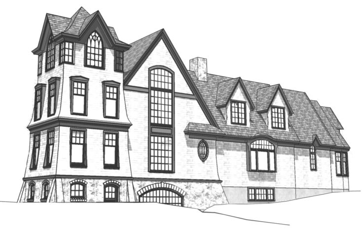 Littlejohn Tower House Maine Home Design