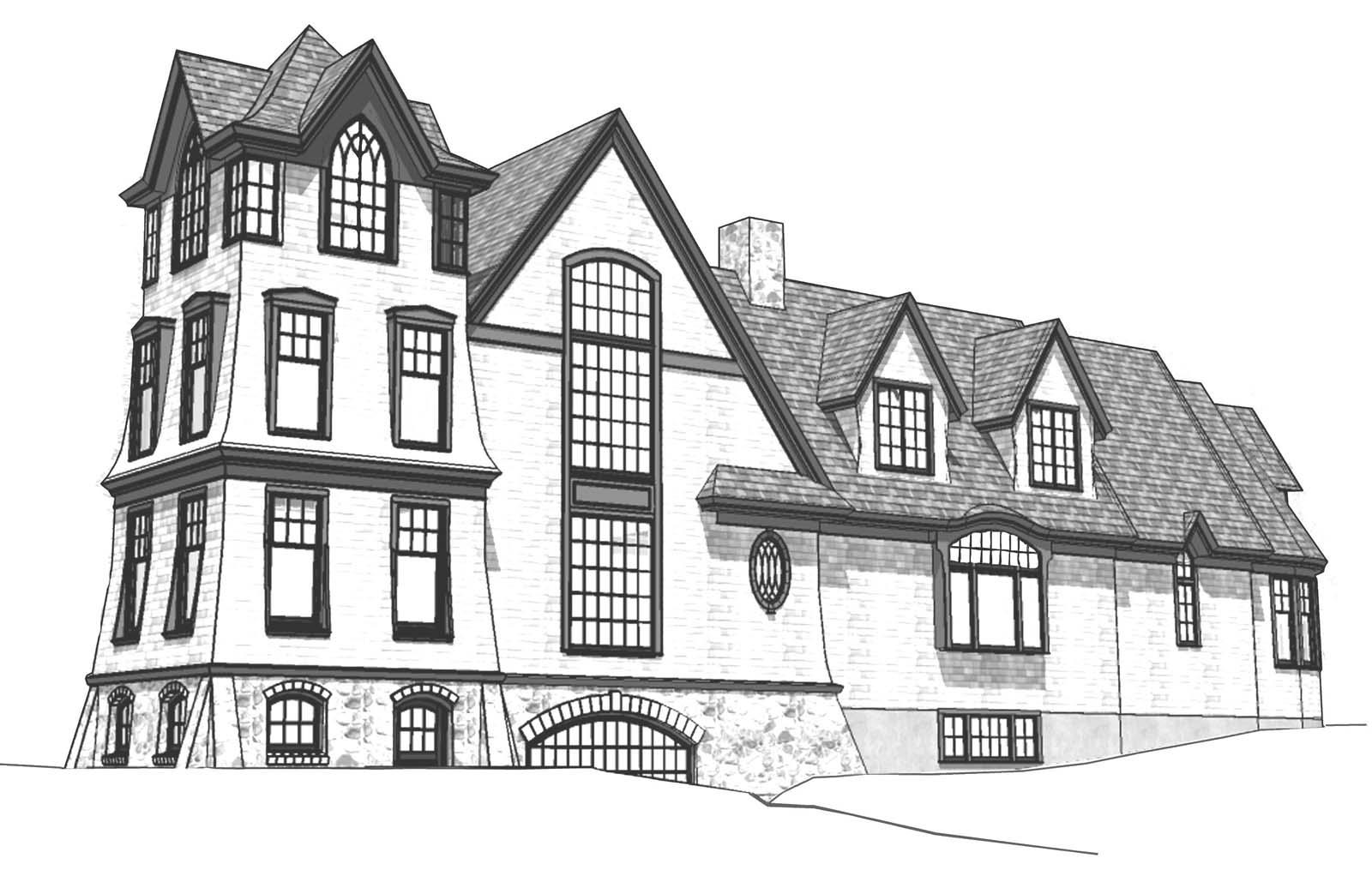 Littlejohn Tower House - Maine Home + Design