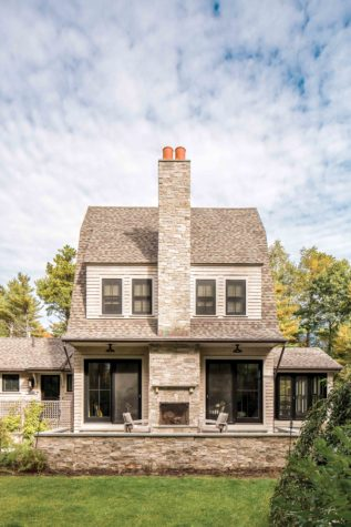 Nesting On The Neck Features August 2018 Maine Homedesign
