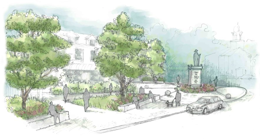 The Revitalization Of A Village Center Maine Home Design