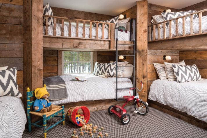 Seven Bunk Beds for the Modern Family - Maine Home + Design