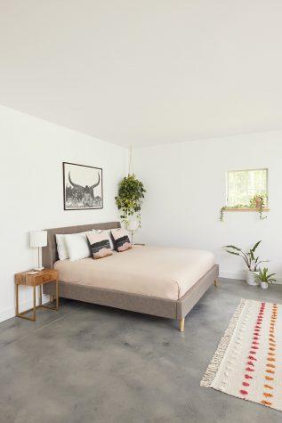The first floor master bedroom